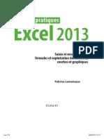 Travaux Pratiques - Excel 2013 _ Saisie Et Mise en Forme, Formules Et Exploitation Des Données, Courbes Et Graphiques...