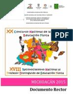 Documento Rector Michoacã-n 2015