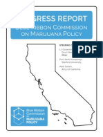 Blue Ribb Blue Ribbon Commission on Marijuana Policyon Commission Report March 20 2015 FINAL