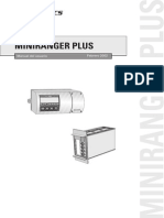 Miniranger Plus Sensor Ultrasonico