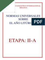 NORMAS UNIVERSALES SOBRE EL AÑO LITÚRGICO Y SOBRE EL CALENDARIO CAPITULO.pdf