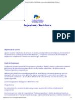 INGENIERÍA ELECTRÓNICA, TODO SOBRE la carrera de INGENIERÍA ELECTRÓNICA.pdf