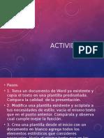 15 Actividad