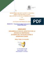 Programa Desarrollo Socio Afectivo