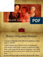 History of Dentistry