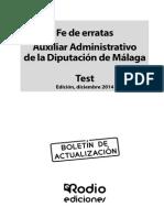 FE Aux Advo Diputacion Malaga Test