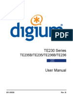 Te230 Series Digital Cards User Manual