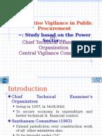 CVC Study on Power Sector