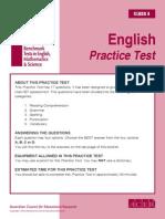 IBT Sample Paper Grade 4 English