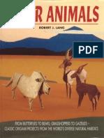 Robert Lang Paper Animals