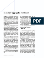 Monetary aggregates redefined