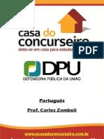 Rev Apostila DPU.2014 Português Zambeli