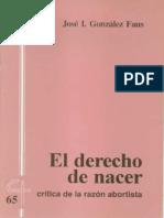 CJ 65, El Derecho de Nacer - José Ignacio González Faus, SJ