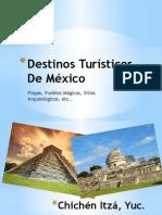 Destinos Turísticos de México