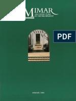 Mimar architecture and development magazine