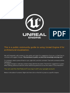 ArchitecturalVisualizationinUnrealEngine4