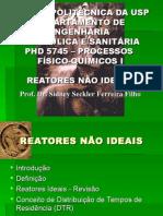 Aula 3 - Reatores Não Ideais (1)
