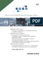 Publicación del Equipo de Gestión Económica y Social ion1