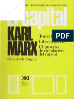 El Capital Tomo II Vol 5 Karl Marx