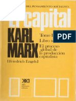 El Capital Tomo III Vol 6 Karl Marx