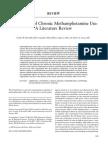 implications of chronic meth use