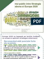 Management-ul Public Intre Strategia de La Lisabona Si Europa2020