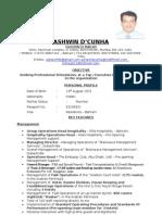 Ashwin D Latest International