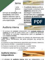Auditoria Interna - Bloco 03