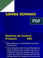 SAMBA DOMINIO.ppt