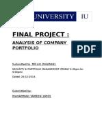 Fundamental Analysis of FFC