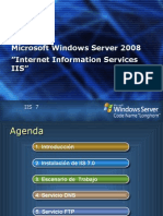 manual de IIS en windows server 2008