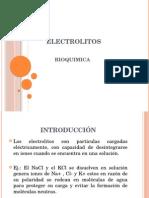 diapositiva electrolitos