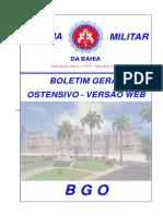 EXTRATO BGO 073