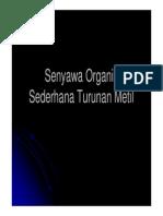 2. Gugus Fungsi Dan Senyawa Organik Sederhana TURUNAN METIL