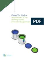 Oman Tax Update 2012 - En