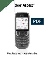 T-Mobile Aspect User Manual English - PDF - 6.56MB