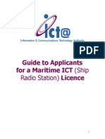 Guide to Applicants Radio License