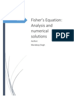 Sample 4 - Fisher's Equation PDE