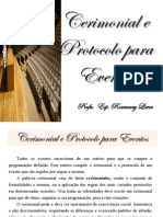 Aula 6 - Cerimonial e Protocolo