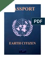 Earth Citizen Passport