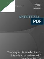 1. Curs Anestezie 2014