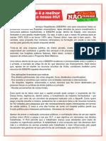 A Empresa Brasileira de Serviços Hospitalares - carta à UFSC