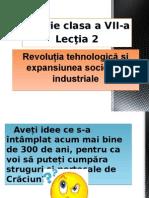 Revoluţia Tehnologică Şi Expansiunea Societăţii Industriale