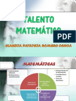 TALENTO MATEMÁTICO