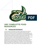 unc charlotte food resources