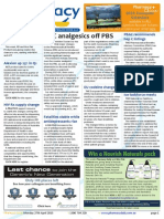 Pharmacy Daily for Mon 27 Apr 2015 - OTC analgesics off PBS, ACCC to authorise Code, PBAC recommends hep C listings, EU codeine changes, and much more