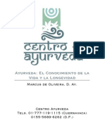 Ayruveda El Conocimiento de La Vida y La Longevidad - Marcus de Oliveira -w Ayurvedatotal Com 34