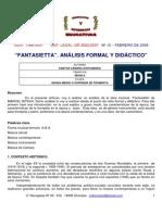 Analisis Formal y Didactico (musica)