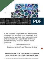 grammar in context power point