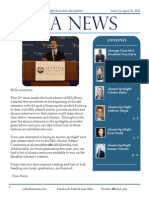 Suffolk Law SBA Newsletter 21 - 4/27/15